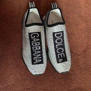 Dolce & Gabbana crystal embellished sneakers (9)